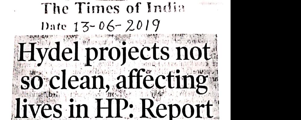 हिमाचल प्रदेश में जीवन को प्रभावित करने वाली हाइडल परियोजनाएं इतनी साफ नहीं हैं: रिपोर्ट